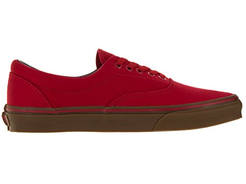 Vans Unisex-Adult Era Schuhe (Canvas) Racing Red/Gum