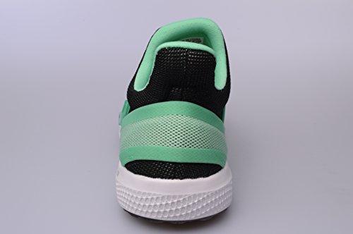 Negro Sintético Running de adidas Zapatillas Material de Mujer Verde Negro Para qwU1gzpA