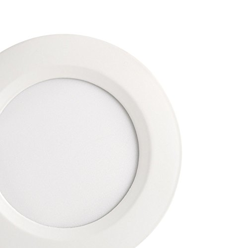 Globe Electric 91254 Recessed Lighting, 4'', White by Globe Electric (Image #1)