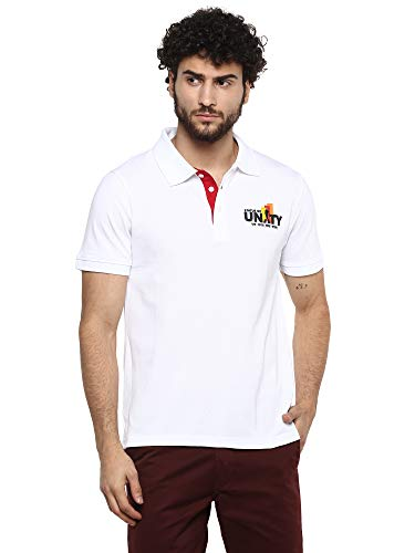 AMERICAN CREW Statue of Unity Polo Collar T-Shirt for Men