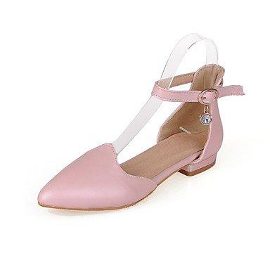 Pointed Dress Zormey Pink White US2 Women'S EU32 Career Heels Black Toe amp;Amp; 5 D'Orsay Office CN31 Two Piece Low amp;Amp; Heel Shoes UK1 g86Uqrgw