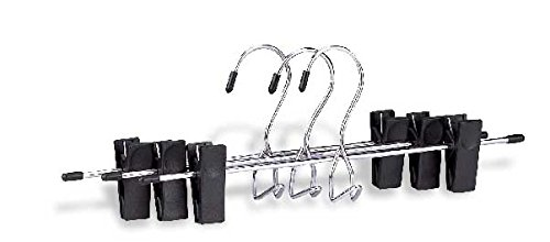 Organize It All 1311W Add-On Skirt and Slack Hanger, 3-Pack