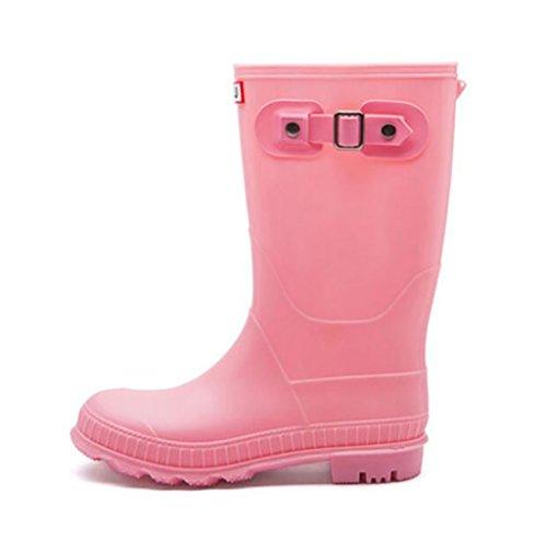 Martin rain Boots, Women's Fashion Shoes Anti-Slip Water Shoes, Overshoes, Outdoor Waterproof Rubber Shoes, Women's Leisure Boots Anti-Slip rain Boots A