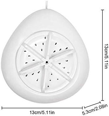 AOLVO Mini Lavadora Portátil con Temporizador de ultrasonidos ...