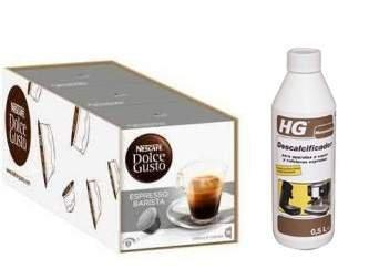 Dolce Gusto Barista 48 cápsulas y 1 Descalcificador HG: Amazon.es ...