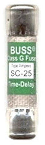 bussmann-sc-25-fuse-25a-600v-time-delay-class-g-melamine-tube-ul-listed