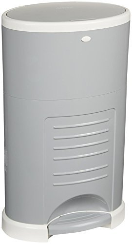 Diaper Dekor Mini Diaper Pail - Gray by Diaper Dekor by Diaper Dekor
