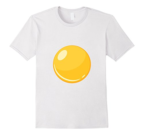 Mens Egg - Bacon & Egg Matching Halloween Costume Shirt Large White - Bacon And Egg Costume Amazon