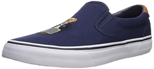 (Polo Ralph Lauren Men's Thompson III Sneaker, Newport Navy, 11.5 D US)