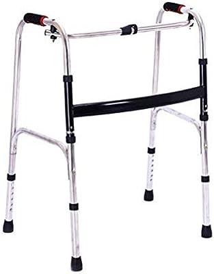 EGCLJ Andador de Ancianos - Andador Plegable - Ajustable para ...