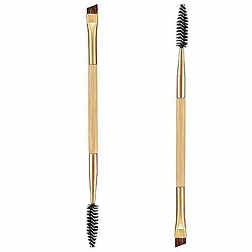 1 X Tool Double Handle Makeup Eyebrow Comb Eyebrow Brush - 5