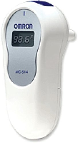 Omron Healthcare 1 Second Ear Thermometer, Comfortable, Fast (1 Each) by Omron
