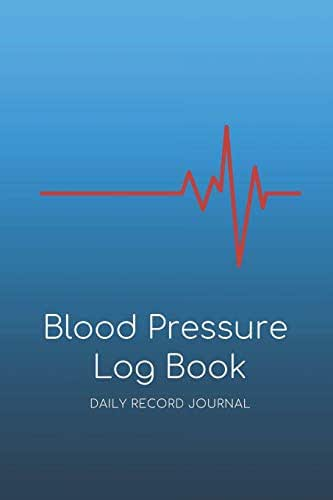 2 Year Blood Pressure Log Book: Daily Blood Pressure Record Book; Health Organizer & Notebook To Monitor Systolic & Diastolic BP, Heart Rate & Weight; Home Medical Logbook & Diary For Tracking Fitness