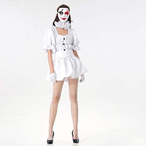 WSJDE Disfraz de Stephen King para Mujer Disfraz de Pennywise para ...