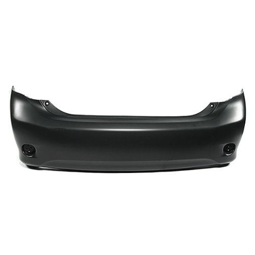 CarPartsDepot, Rear Bumper Primed Cover Without Spoiler, 352-44796-20-PM TO1100264 5215902963 (Toyota Corolla 2010 Spoiler compare prices)