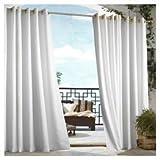Outdoor decor Gazebo Indoor Outdoor Window Panels, 50 by 96, White