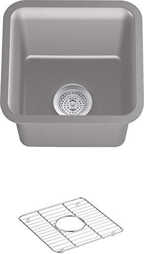 Kohler 8223-CM4 Cairn Kitchen Sink, Matte Grey