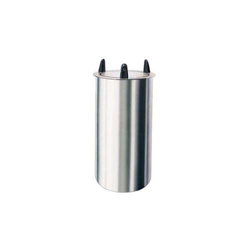 Lakeside 5005 Tubular Drop-in Dish Dispenser, Max Dish Size 5-3/4