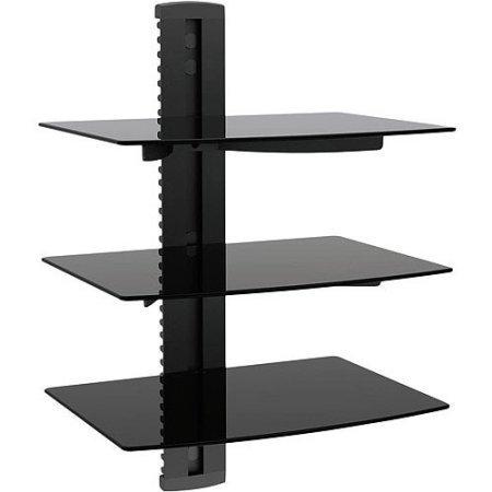 Ematic 3 Shelf DVD Player Wall Mount EMD213
