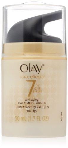 Olay Total Effects 7-в-1 Anti-Aging Ежедневный увлажняющий 1,7 эт. Унция
