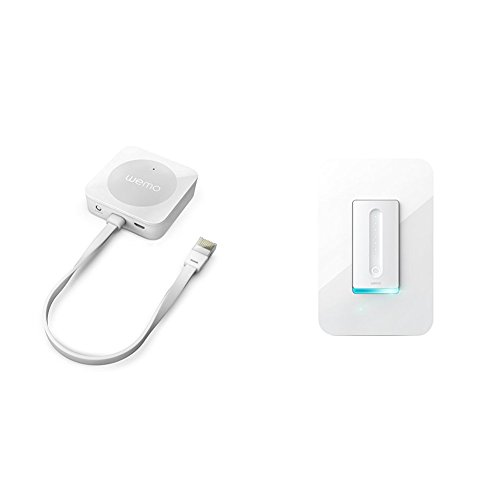 Wemo Bridge with Dimmer Wi-Fi Light Switch