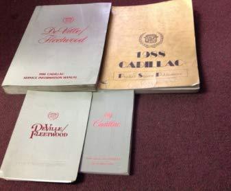 1988 GM Cadillac DEVILLE FLEETWOOD Service Shop Repair Manual OEM FACTORY Set