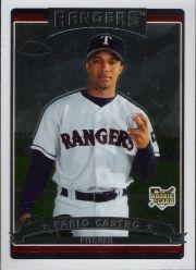 2006 Topps Chrome Baseball Rookie Card #297 Fabio Castro Near Mint/Mint