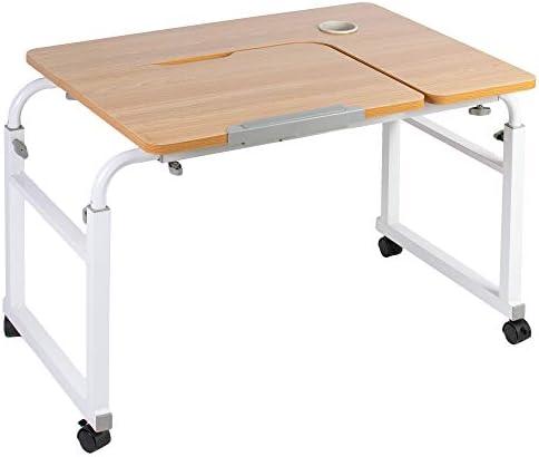 VIVO Height and Length Adjustable Mobile Desk