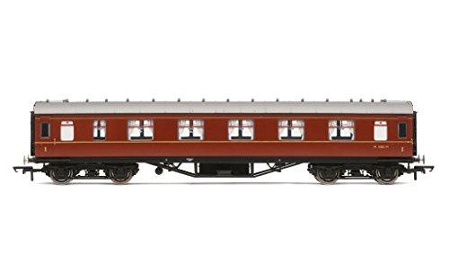 Hornby R4234B Br Ex Lms Corridor 1St Class Coach M1080M New 00 Gauge -  Hornby Hobbies Ltd