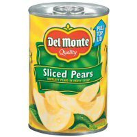 Del Monte Sliced Bartlett Pears in Heavy Syrup 15.25 oz