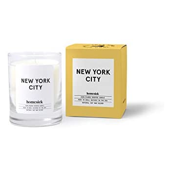 Homesick Mini Scented Candle (10 to 12 hr Burn Time) Home, 1.5 oz, New York City