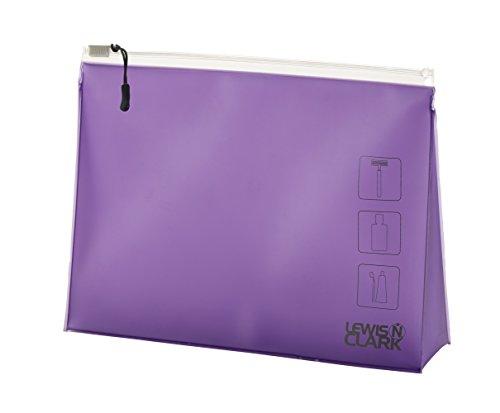 Lewis Clark Toiletry Pouch Purple