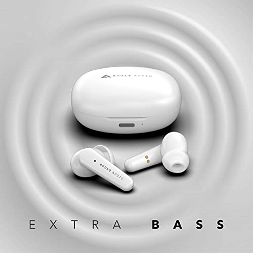 Boult Audio AirBass FX1 True Wireless Earbuds with 24H Total Playtime
