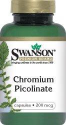 Chromium Picolinate 200 mcg 100 Caps - Swanson Premium