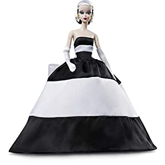 Barbie FXF25 - Barbie Signature Black and White Forever klassische Collector Sammler Puppe 8
