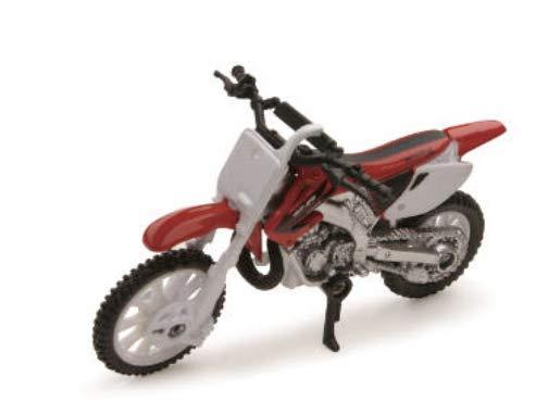 Die-Cast Red Honda CR250R Dirt Bike, 1:32 Scale ()