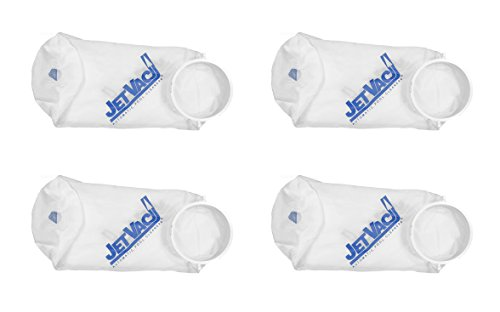 4) Pentair JV32 Letro Jet Vac Swimming Pool Cleaner Fine Silt Bag - Vac Letro Jet