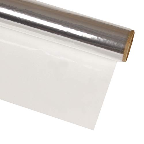 Hygloss Products Cellophane Roll – Cellophane Wrap for Crafts and Gifts, FDA Approved, 20 Inch x 12.5 Feet, Clear