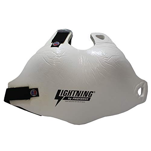 Asian Zing Lightning by Proforce White Female Chest Protector
