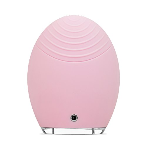 FOREO-LUNA-Face-Exfoliator-Brush-and-Silicone-Cleansing-Device-for-SensitiveNormal-Skin-Pink