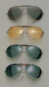 Aviator Sunglasses, Green - Avaiator Sunglasses