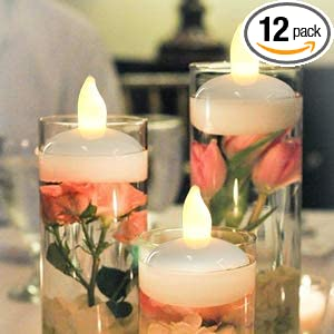 Amazon Com Image Floating Candles Flameless Floating Led Tea