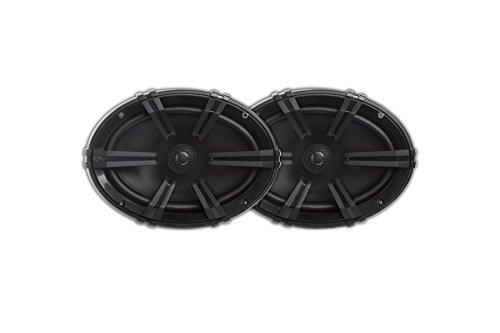 MB Quart DK1-169 Discus 2-Way Car Coaxial Speaker System with 0.75-Inch Aluminum Dome Tweeter on Silk Surround, 6 x 9-Inch, Set of ()