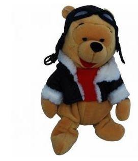 - Winnie the Pooh Bean Bag Plush Pilot Pooh by Disney