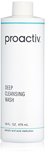 Proactiv Deep Cleansing Wash, 16 Ounce (90 Day) (Best Cleanser For Back Acne)