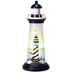 "15"" Lighted Lighthouse w/Lighthouse Accent"