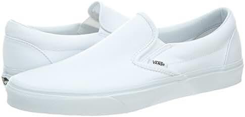 Vans Classic Slip On White Womens Trainers