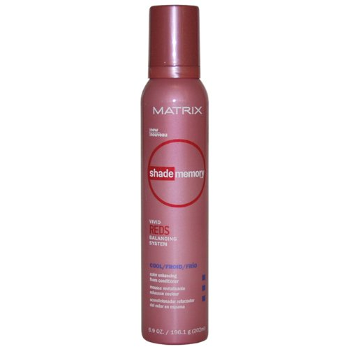 Shade Memory Vivid Red Foam Conditioner Cool Unisex Conditioner by Matrix, 6.9 Ounce ()