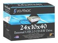 iRiver CDRW 24X10X40 EXT USB2.0 (DR-CDRW241040EU)