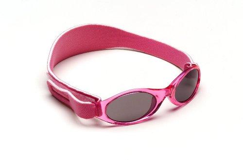 2012 Infant Adventure BanZ Baby Sunglasses- Infant Size, Ultimate UV protection (Flamingo - Banz Baby Sunglasses Case